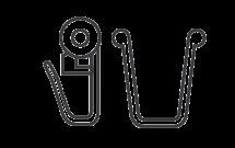 Крючок-ролик и стопор